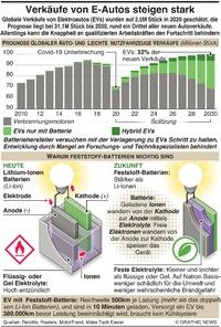 MOTOR: Verkäufe von EVs steigen infographic