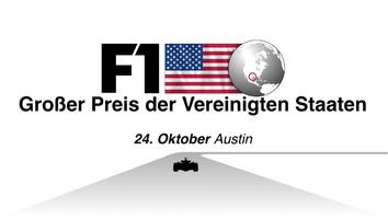 F1: Vereinigten Staaten GP 2021 video infographic