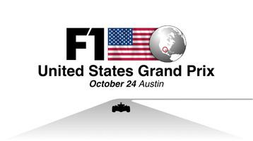 F1: United States GP 2021 video infographic