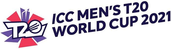 CRICKET: ICC Men's T20 World Cup 2021 logo infographic