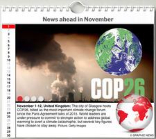 WORLD AGENDA: November 2021 interactive infographic