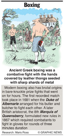 Boxing infographic