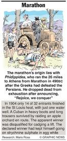 Marathon infographic