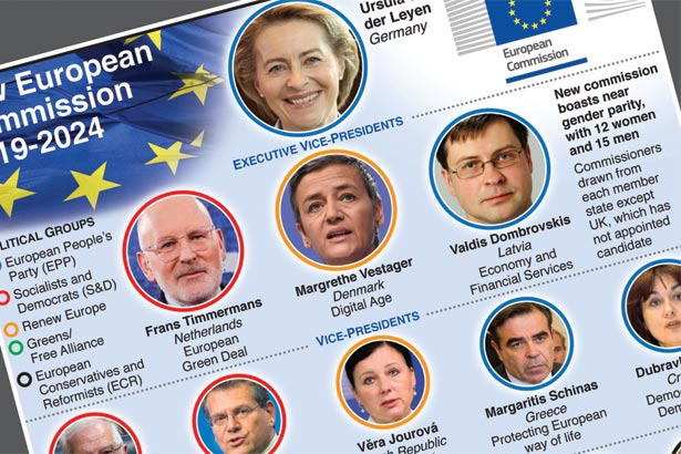 New European Commission takes over