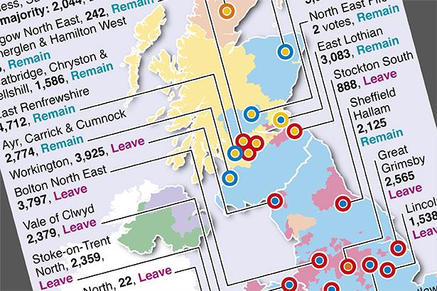 Dec 12: UK election -  battleground constituencies