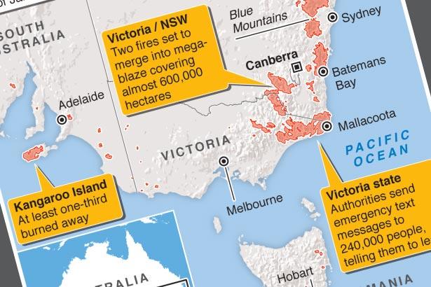 Australians leave homes as heat, winds escalate fire danger