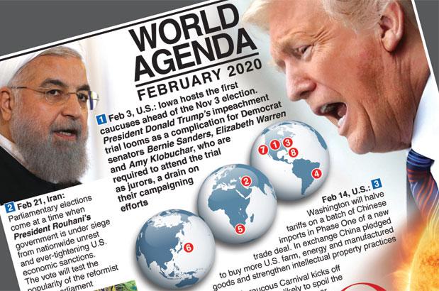 World Agenda: Events in February – print version