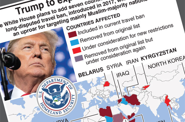 Trump to add more countries to travel ban