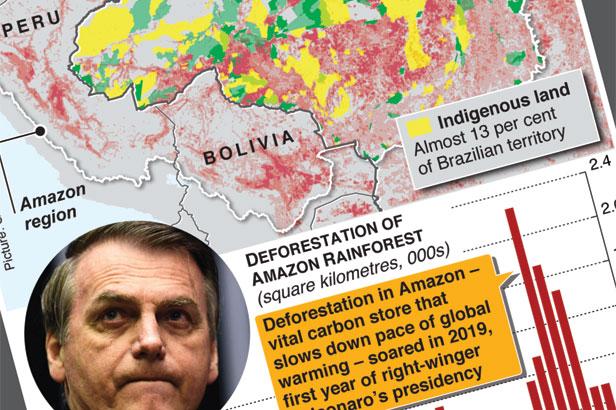 Bolsonaro to allow mining on indigenous lands