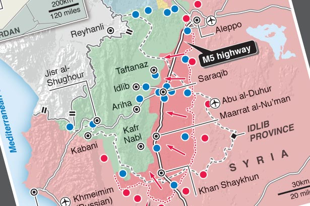 Syrian army seizes Damascus to Aleppo highway