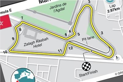 Feb 29: Formula E in Marrakesh, Morocco