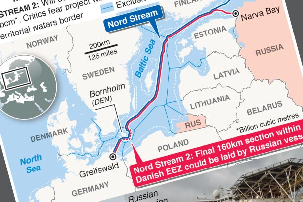 Russia planning to complete Baltic Sea pipeline on its own