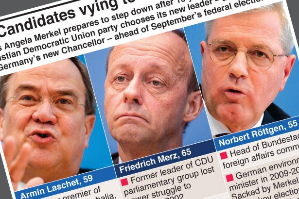 Merkel's party chooses new leader ahead of German election