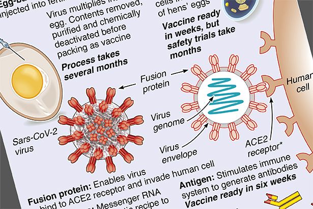$2 billion race to find a coronavirus vaccine