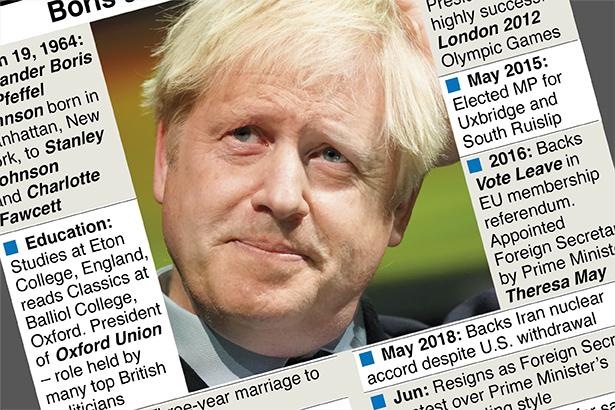Boris Johnson's road to power