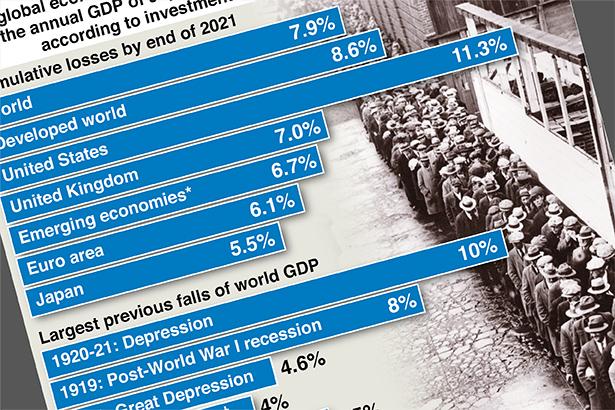 World economy faces $5 trillion hit