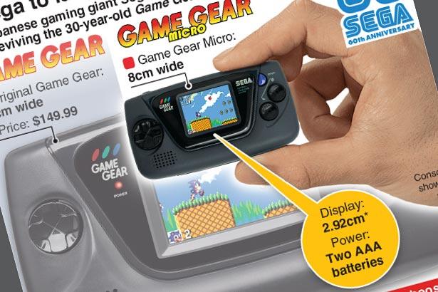 Sega's new Game Gear Micro handheld