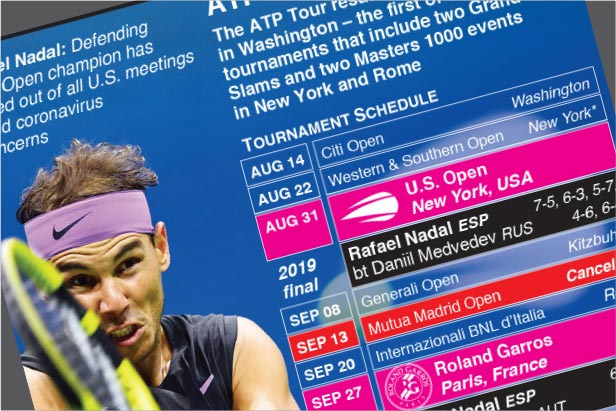 ATP Tour set for return