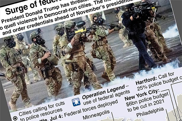 Surge of federal agents to U.S. cities