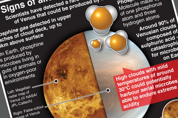 Signs of possible alien life found on Venus