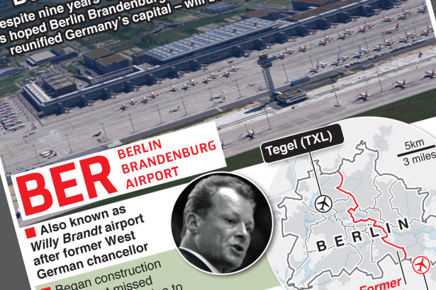 Berlin's new airport opens after nine-year delay