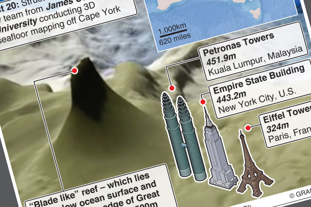Coral reef taller than Empire State Building found
