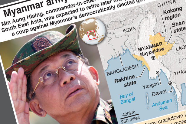 Who is Myanmar army chief Min Aung Hlaing?