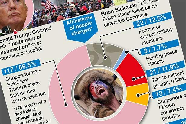 U.S. Capitol building perpetrators