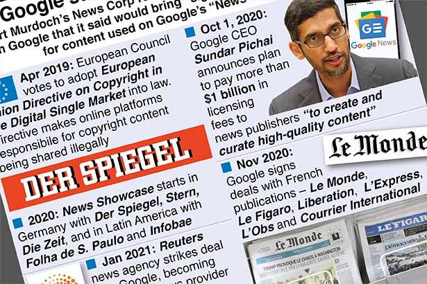 Google strikes content payment deals