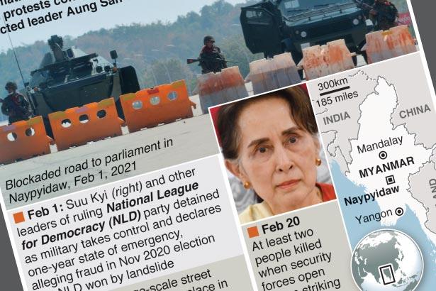 Indonesia presses regional effort to resolve Myanmar crisis