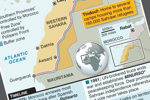 Refugees' frustration drives renewed Western Sahara conflict