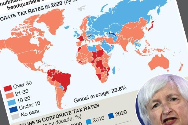 U.S. push for global minimum corporate tax