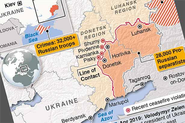 Fighting escalates in eastern Ukraine