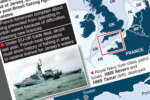 UK fishing row with France escalates