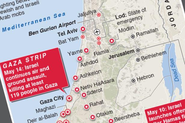 Israel intensifies attacks on Gaza