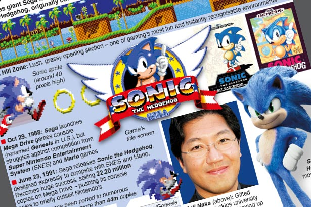 Sonic the Hedgehog turns 30 years old today
