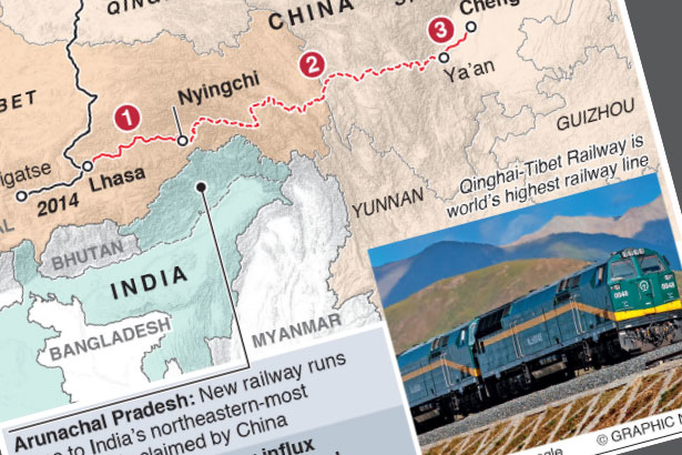 Jun 30: China opens new railway line across Tibet