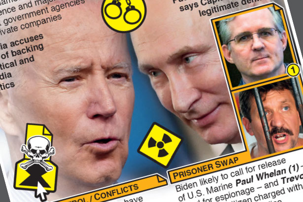 Biden meets Putin as tensions rise