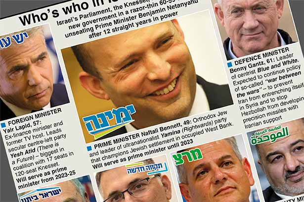 Who's who in Israel's new government