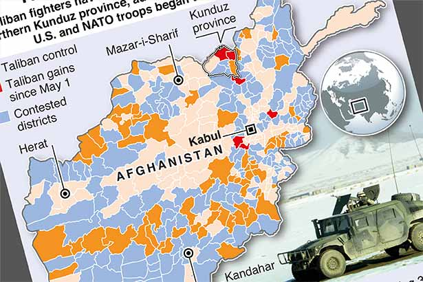 Taliban take more Afghan districts