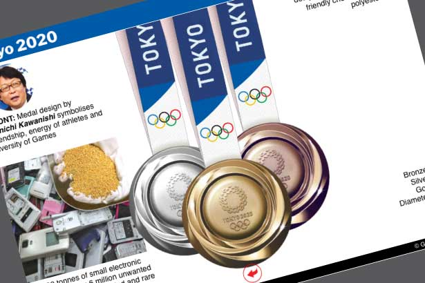 Jul 23-Aug 8: Olympic schedule and medal table live