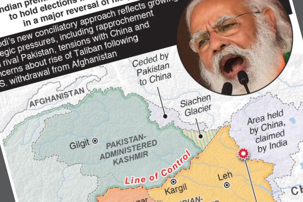 India's Modi promises Kashmir elections