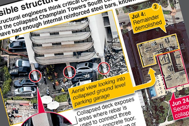 Potential construction flaws found in collapsed tower