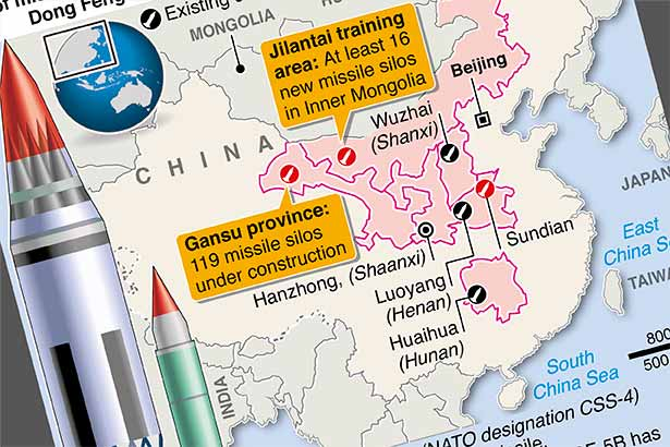 China's growing missile force