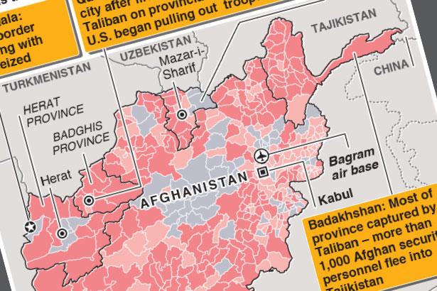 Taliban take key Afghanistan-Iran border crossing