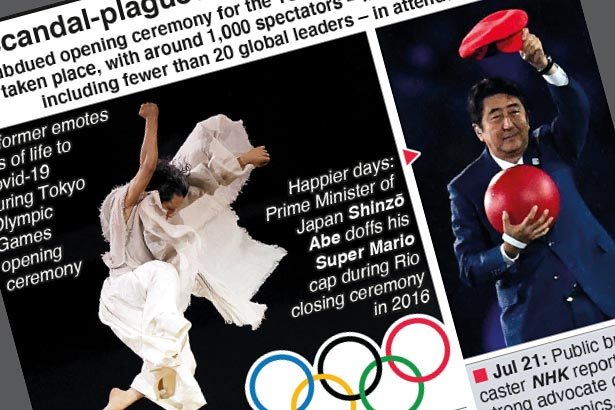 Tokyo Olympics open amid blunders and rising Covid cases