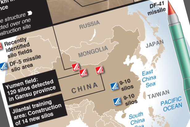 China building new nuclear missile base