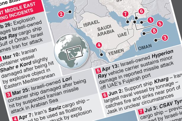 US, UK and Israel blame Iran for ship attack