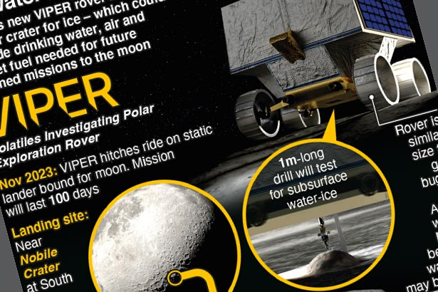 NASA's latest rover will search for water ice on moon