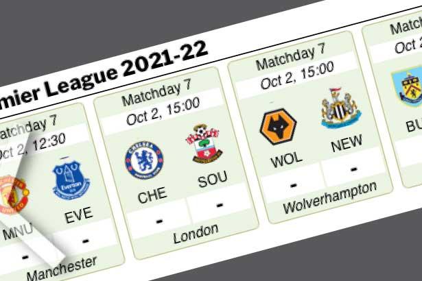 Aug 14-May 22: Premier League 2021-22 live